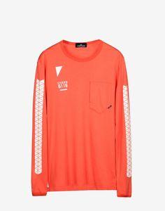 CLOTHES · 20213 LS T SHIRT PRINTED   INTERLOCK MAKO CO Stone Island Shadow  Project Stone Island Shadow e21e60ffd