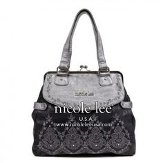 Nicole Lee faux leather bag