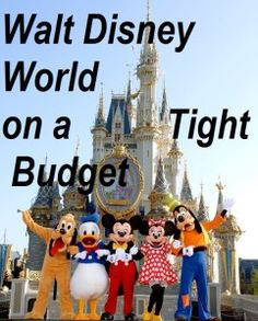 Planning a Walt Disney World Vacation? Learn how to take your trip even if you're on a tight budget!