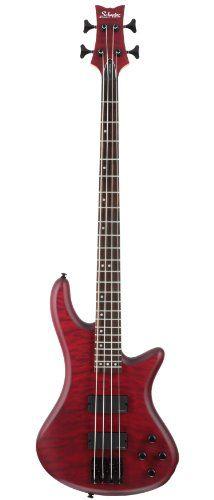 Schecter Stiletto Custom-4 Electric Bass Guitar (4 String, Vampyer Red Satin) Schecter,http://www.amazon.com/dp/B0002E1HG0/ref=cm_sw_r_pi_dp_Hcpxtb0NVVKGFMR3