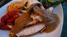 Como hacer GRAVY PARA PAVO - Mushroom Turkey Gravy - Recetas para cena d...
