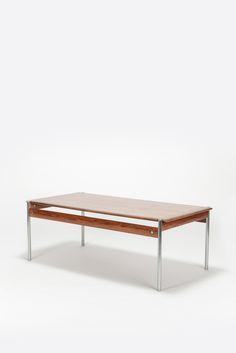 Sven Ivar Dysthe Coffee Table Model 1001 Rosewood