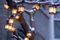 Imagen de light, winter, and snow