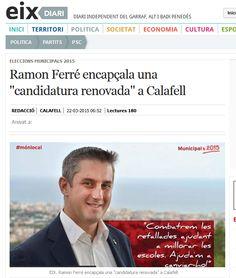 WEBSEGUR.com: ENTREVISTA AL ALCALDABLE DE CALAFELL: Ramon Ferré ...