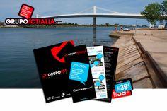 Grupo Actialia ha presentado sus servicios en Deltebre de diseño web, diseño gráfico, imprenta, rotulación y marketing digital. Para más información www.grupoactialia.com o 977.276.901