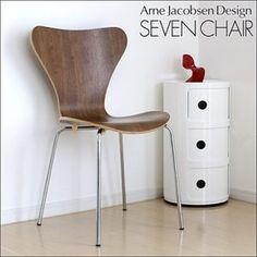 赤字 北欧家具 セブンチェア アルネヤコブセン椅子DB 即納 インテリア 雑貨 Scandinavian modern chairs ¥2980yen 〆04月27日