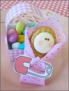 """""""Nutter Butter Cookie Babies"""" Baby Shower Favor How-To by marksbeast3113"""