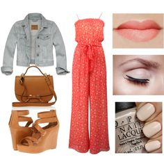 Au Naturel by timeandcouture on Polyvore