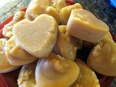 Molded maple sugar candy