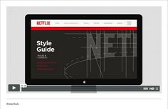 New Global Identity for Netflix by Gretel: Brand Hub