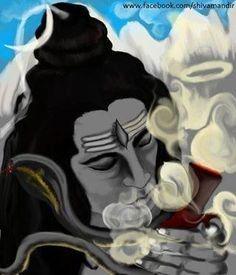 Bhagvan Mahadev Bhang ka Sulfa Pite Huye HD Images Picture For Maha Shivaratri