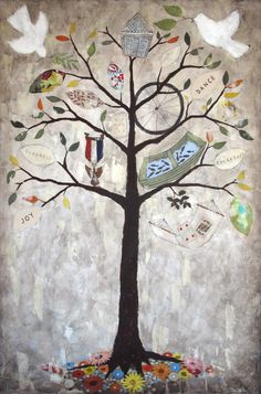 Rebecca Rebouché — Family Tree Paintings