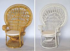 Peacock cane chairs by Goldenrattan.com.au