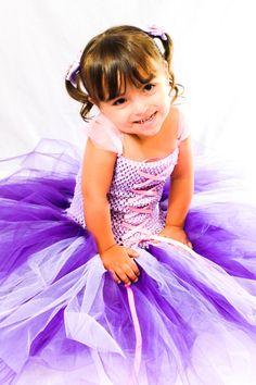Rapunzel - Tangled Inspired Purple, Lavender, & Pink Tutu Dress Costume 4T-Girls 9/10, $65.99