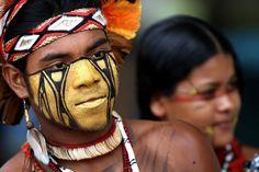 Pataxo Indian Couple