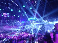 2013 Eurovision in Malmo Sweden. Too bad USA can't participate. This concert experience is amazing.