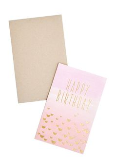 // Happy Birthday Fade Card