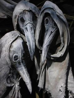 Plague mask art. Superfantastic!