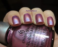 China Glaze Astro Hot. 2013 Hologlam Collection