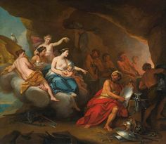 Venus at the Forge of Vulcan, 1723, by Louis de Boullogne the Younger