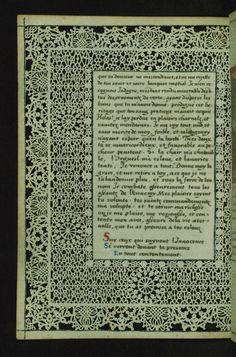W.494, LACE BOOK OF MARIE DE' MEDICI folio 23v