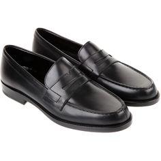SAINT LAURENT Loafers ($645) ❤ liked on Polyvore