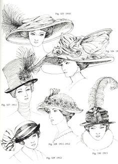 Hats 1911-1914