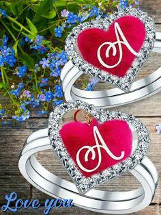 Alphabet Tattoo Designs, Alphabet Letters Design, Alphabet Images, Alphabet Wallpaper, Name Wallpaper, Heart Wallpaper, New Love Quotes, Love Quotes With Images, Neon Symbol