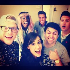 Scott Hoying, Mitch Grassi with Nick Pitera and Colleen Ballinger? omg.