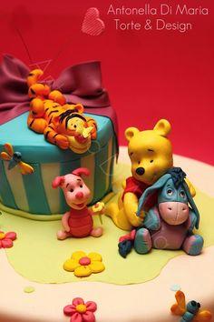 .Winne the Pooh Cake Cute!!