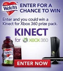 @Welchs Heart Health Month XBox Sweepstakes