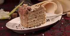 Eszterhazy recipe Hungarian Recipes, Minion, Vanilla Cake, Banana Bread, My Favorite Things, Desserts, Food, Traditional, Vanilla Sponge Cake