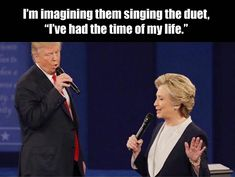 24 Beyond Hilarious Memes from Hillary Clinton & Donald Trump's Second Debate Funny Pins, Funny Shit, The Funny, Funny Stuff, Awesome Stuff, Random Stuff, That's Hilarious, Daily Funny, Funny Laugh