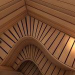 Wave Bench Sauna – SAWO