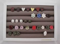 DIY ring display box from photo frame and water pipe insulation tubes!