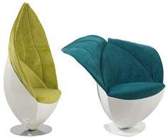 Limbo chair looks like a leaf!