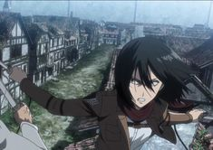 Mikasa, Attack On Titan, Good Times, Manga Anime, Cartoons, World, Cute, Shingeki No Kyojin, Animated Cartoons