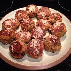 Aunt Mary's Eggplant Balls Recipe - eggplant recipes Veggie Dishes, Vegetable Recipes, Vegetarian Recipes, Cooking Recipes, Healthy Recipes, Diet Recipes, Side Dishes, Eggplant Dishes, Eggplant Recipes