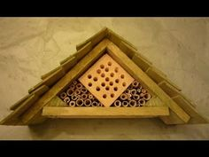 Video: Build Your Own Bee Hotel Using Recycled Materials Added by HOMEGROWN.org on December 6, 2013