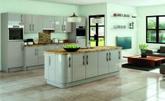 Kitchen showroom in Nottingham Modern Kitchen Island, Modern Kitchen Design, Kitchen Ranges, Kitchen Designs, Symphony Kitchen, Kitchen Interior, Kitchen Decor, Kitchen Ideas, Home Renovation