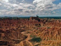 Un paseo turístico por el desierto de La Tatacoa
