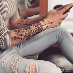 Girly by inspo @ chik.tattoo - Girly by inspo @ chik. - Girly by inspo @ chik.tattoo – Girly by inspo @ chik. Tattoo Femeninos, Wrist Tattoos, Love Tattoos, Unique Tattoos, Body Art Tattoos, Tattoos For Guys, Mandala Tattoo, Sexy Tattoos, Tattos