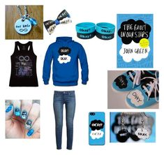 """""""The Fault In Our Stars"""" by youaremysanity ❤ liked on Polyvore featuring Bajo, Samsung and Paige Denim"""