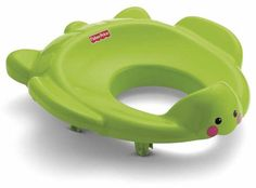 Another type of potty training device are adapter seats that fits over the regular toilet seat making it easier for your child to sit on the big potty.