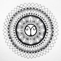 Image result for aries mandala tattoo