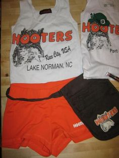 Sexy Hooters Uniform Costume