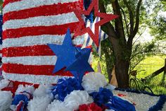 Small Parade Float Ideas   ... that less is not more on a parade float. More is more. Go overboard