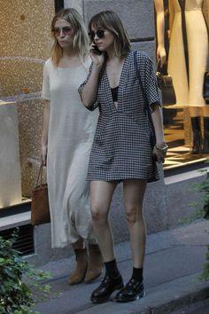 Dakota Johnson out shopping in Milan   Italy