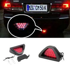 New Motorcycle tail light Motorbike Moto Brake Light Flash Strobe Emergency Warning  LED stop signal Lamp #Affiliate