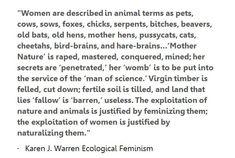 ecofeminism quotes -
